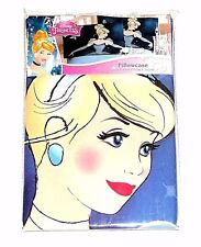 NEW Disney Princess Cinderella at the Ball Dancing Pillowcase Standard 20x30