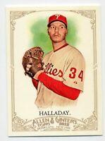 2012 Topps Allen & Ginter #90 ROY HALLADAY Philadelphia Phillies BASEBALL CARD