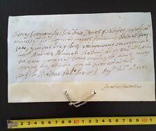 VENEZIA PERGAMENA MANOSCRITTO ANTICO 1747