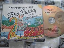 Jive Bunny And The Mastermixers ‎– That's What I Like MFDCD ‎UK Promo CD Single