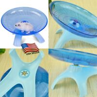 Small Pets Mice Hamster Rat Running Disc Flying Saucer Animal Wheel Toy Reusable