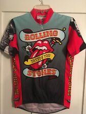 Rolling Stones Tattoo You Tour Bike Shirt men's size medium,