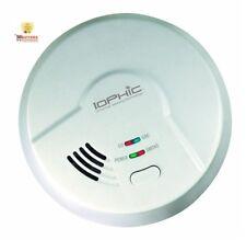 USI MDSCN111 4-in-1 Universal Smoke Sensing Technology Hardwired Smart Alarm
