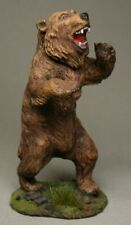 Painted Tin Toy Soldier Brown bear