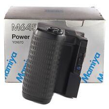 Mamiya Y01670 Power Drive Grip Motor Winder for M645 Super 645 Pro TL (FG39977)