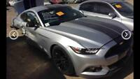WRECKING FORD MUSTANG 2017 V8 AUTO S550