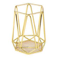 Alambre de color oro titular cubiertos Utensilio de almacenamiento de cocina Olla Caddy Tarro De Rack