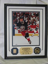 WAYNE GRETZKY, Game Used Stick Photo Display, New York Rangers Liberty Jersey