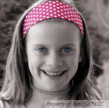 BonEful RTS NEW Boutique Girl Red White S Dot Disney Minnie Xmas Fabric Headband