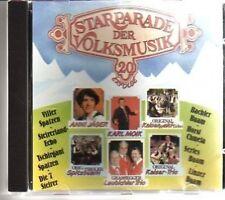 (AD663) Starparade Der Volksmusik, 20 Erfolge - CD