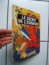 JACOBS / BLAKE ET MORTIMER / LE SECRET DE L ESPADON /  TOME 1 ET 2 / 1964