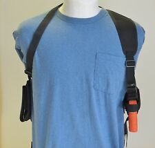 Shoulder Holster for SPRINGFIELD XDM 3.8 9mm, 40 & 45 with Dbl Mag Pouch