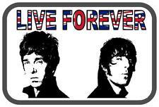 Oasis Live Forever Novelty  Metal Door Wall Sign