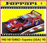 1/43 - Ferrari F40 Competizione - Topeka 2h IMSA GTO 1990 - Die-cast