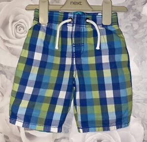 Boys Age 18-24 Months - TU Sainsburys Checked Shorts