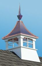 Accentua Charleston Cupola with Square Copper Finial, 24 in. Square, 63 in. High