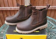 Ladies Amblers Safety Boots AS101 ALICE Womens Leather Steele Toe Cap Brown UK 5