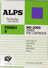 ALPS MD-5000 Series Finish II Ink Cartridge OEM NIB
