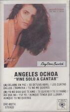 Angeles Ochoa Vine Solo A Cantar Cassette New Sealed