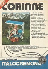 X9852 Corinne - ITALOCREMONA - Pubblicità 1976 - Advertising