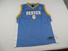 Reebok Boys Kenyon Martin Denver Nuggets NBA Jersey Youth Sz XL (18/20) Mens S
