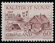 Groenland postfris 1970 MNH 76 - Bevrijding 25 Jaar
