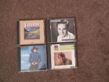 CDs:  (Lot of 4)   Country Singers/Songs - 50 Original Songs - One S/H fee !