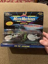 STAR TREK GENERATIONS MICRO MACHINES DIE-CAST MINIATURES (Galoob, 1994) NEW (KC)
