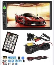 "7"" Double 2DIN Car MP5 Player Bluetooth Touch Stereo Radio with Rear View Camera"