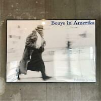 Joseph Beuys Art Poster Photo document Vintage Rare From JAPAN
