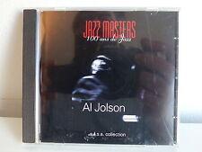 CD ALBUM Jazz masters 100 ans de jazz AL JOLSON