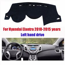 Dash Mat Dashboard Cover for Hyundai Elantra 2010-2015 Left Hand Avoid Light Pad
