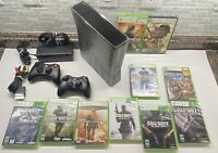 Xbox 360 Call Of Duty Modern Warfare 3 Console 2 Controllers 10 Games MW3 320gb