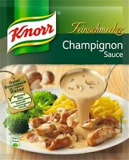 Ten (10) bags Knorr gourmet Mushroom sauce Champignon Sauce New from Germany