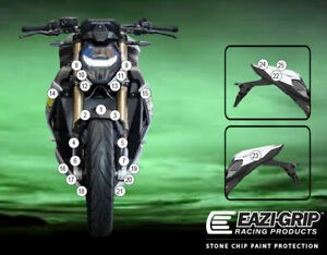 Motorcycle Stone Chip Protection PPF BMW S1000R 2021+
