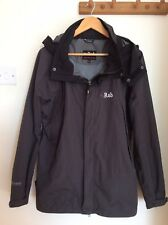 RAB Mens M Medium Pinnacle Dark Grey Black Trims Hooded Jacket Coat VGC