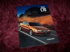 Catalogue  / Brochure VOLVO C70 1999 //