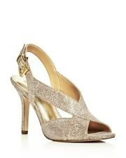 b9d7cacc6 Michael Kors Glitter High (3 to 4 1/4) Heel Height Sandals for Women ...