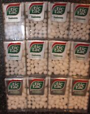 TIC TAC FRESH MINT Flavor Pack OF 12 ( .62 oz. (18g) each) Retail ready.