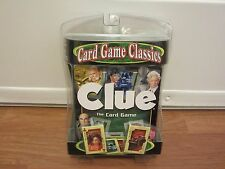 CLUE: THE CARD GAME  (Winning Moves Games)    NEW