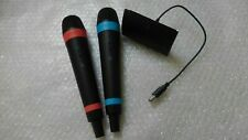 PS3/PS4 Singstar Wireless Microphones & USB Dongle Receiver for PS3/PS4?PS2
