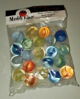 Vintage Bag Marble King Marbles New Unopened Bag 20 plus shooter NOS