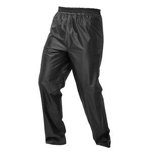 JDC Motorcycle Motorbike Waterproof Trousers Over Rain Unisex - DRENCH