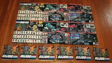 7ct Lot 1986 Hasbro GI Joe Bi-Lingual Canadian Poster Manual Booklet Catalog(s)