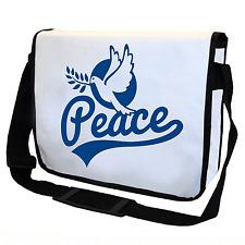 Peace | Friedenstaube | Dove of Peace | Weiß | Umhängetasche | Messenger Bag