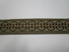 5cm ancho blanco crinolina Pelo de Caballo Trenza Flexible endurecidas Sombrerería Sombrero recortar.
