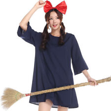 Kiki's Delivery Service Halloween Dress Blue Anime Cosplay Fancy Dress Free Size