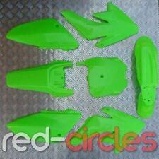 Verde CRF70 Style pit bike plásticos Set sirve para 125cc 140cc 150cc 160cc pitbike