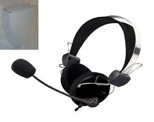 Stereo Headset Kopfhörer Mic VOIP SKYPE MSN CHAT MULTIPLAYER PC Notebook  SX-910