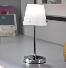 2 Stück LED Touch Me Nachttischlampe Leselampe dimmbar Wohnzimmer Tischlampe T92
